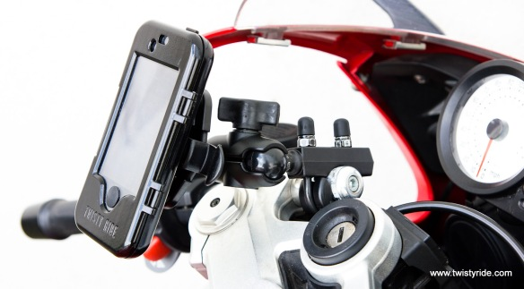 iPhone Motorcycle Mount